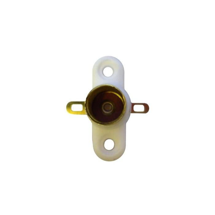 Douille avec 2 cosses à souder. Pour ampoule à culot E10 de 10mm