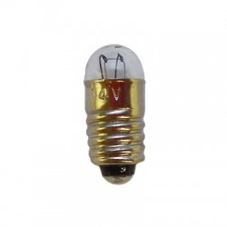 Ampoule à culot de 5,5mm. Tension et globe: 14V / 0,05 A / 5mm