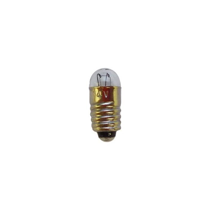 Ampoule à culot de 5,5mm. Tension et globe: 14V / 0,05 A / 5mm