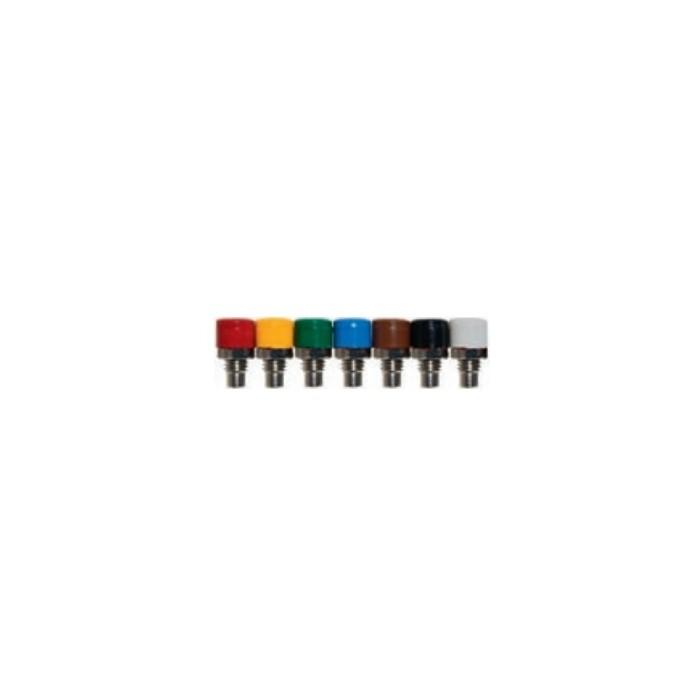 Embases miniatures pour châssis à visser en 2,6mm. 50 pièces