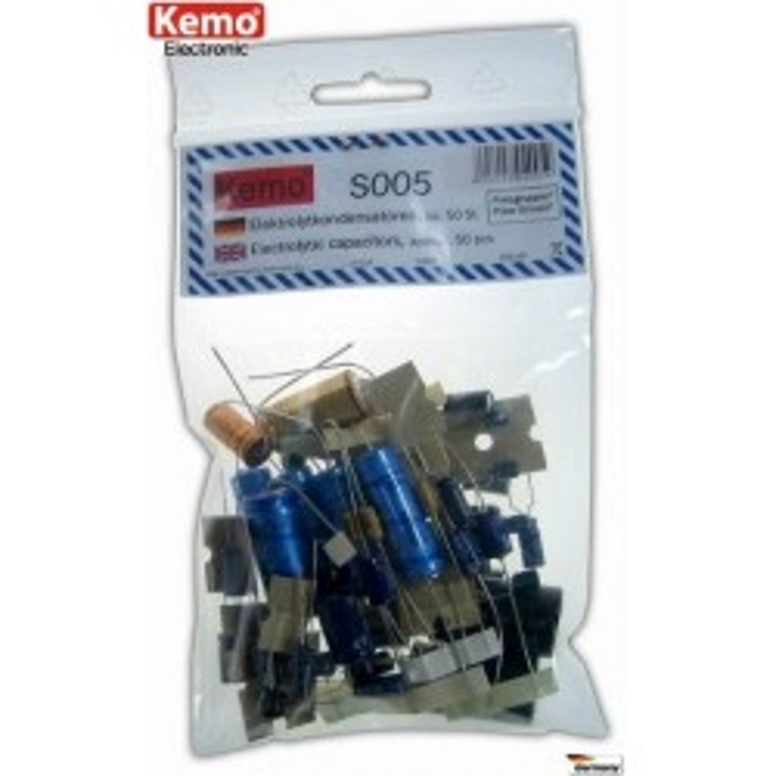 Condensateurs électrolytiques. Environ 50 pièces