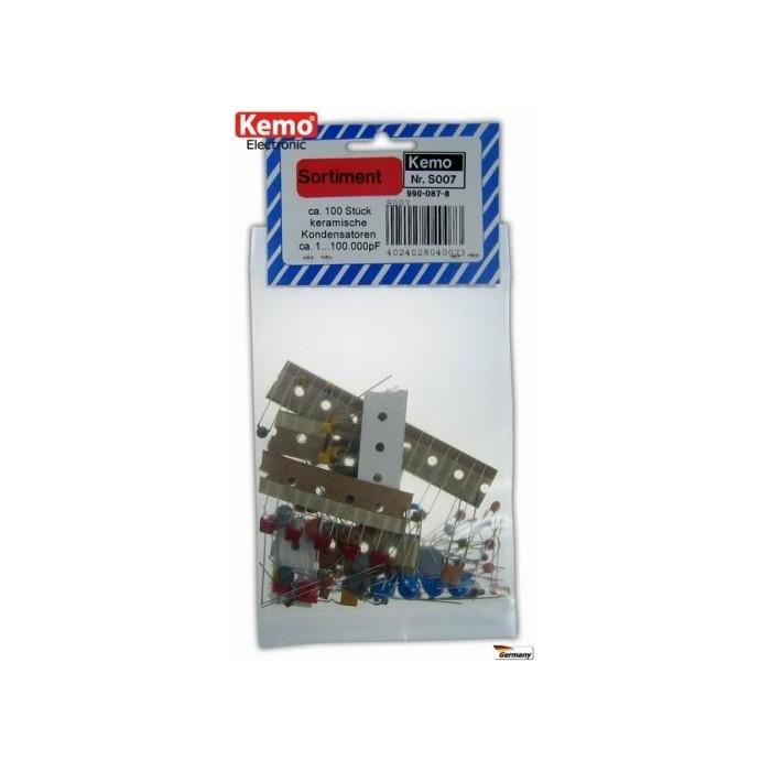 Condensateurs céramiques. 100 pièces