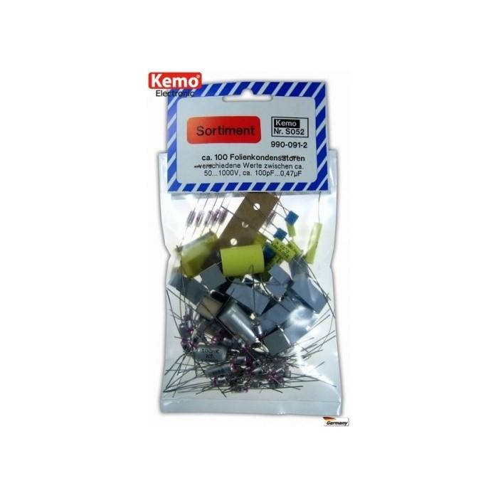 Condensateurs électrolytiques aluminium. Environ 100 pièces
