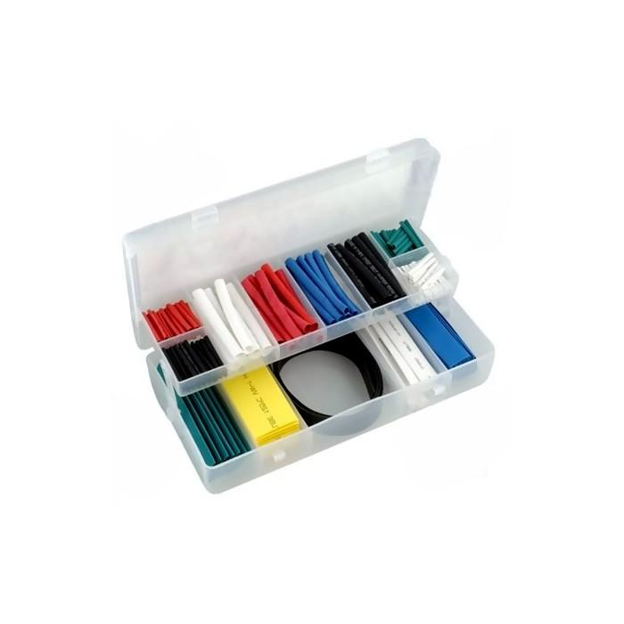 Coffret de tubes thermorétractables, 171 pièces