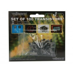 Set de 100 transistors assortis