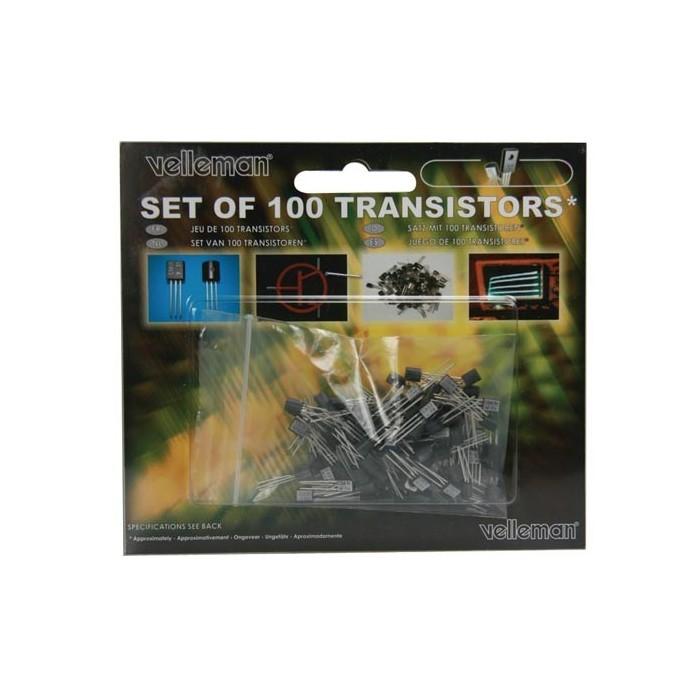 Set de 100 transistors assortis