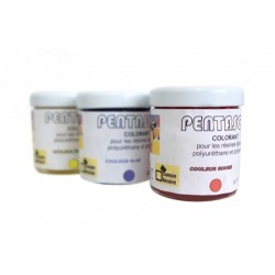 Pentasol: Colorant en pate universel 30ml Jaune
