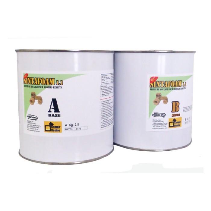 Sintafoam PU 2 composants 2 x 2,5 kg