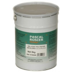 Gel-coat poly incolore sans cata 5kg