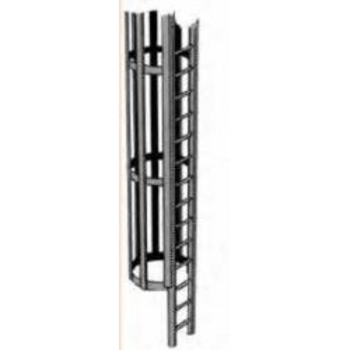 Plastruct : échelle avec cage pour échelle ZERO