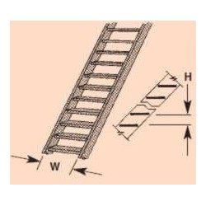 Plastruct : Sachet de 2 escaliers N