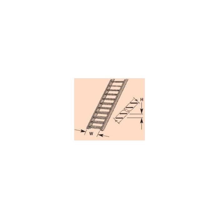 Plastruct : Sachet de 2 escaliers HO