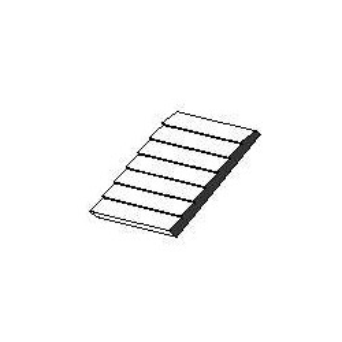 Planches superposées Plaque de styrène blanche 150x300x1mm espacement de 1,30 mm