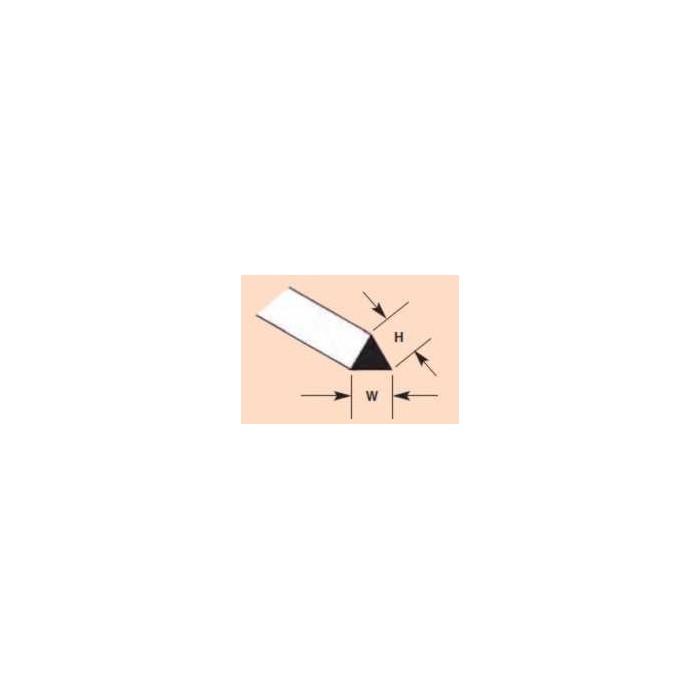 Profilé Triangulaire Plastruct styrène