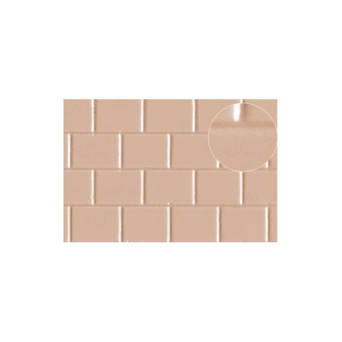 Echelle O les briques font 8x6 mm