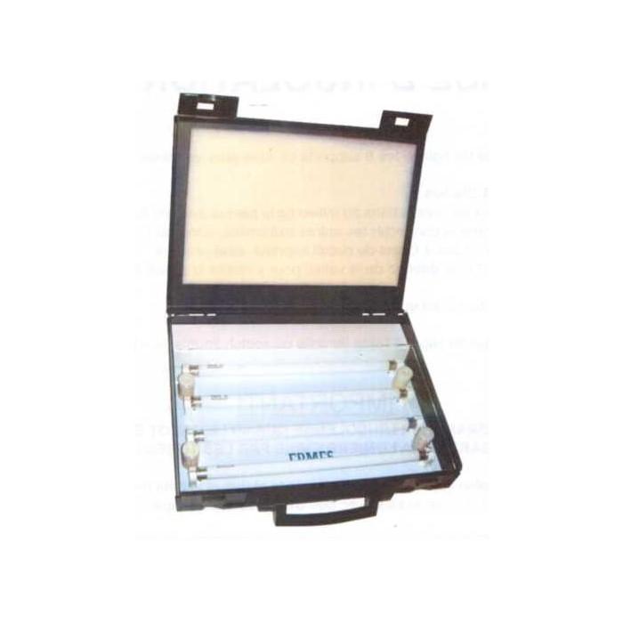 Valise d'insolation pour circuits imprimés, 4 tubes