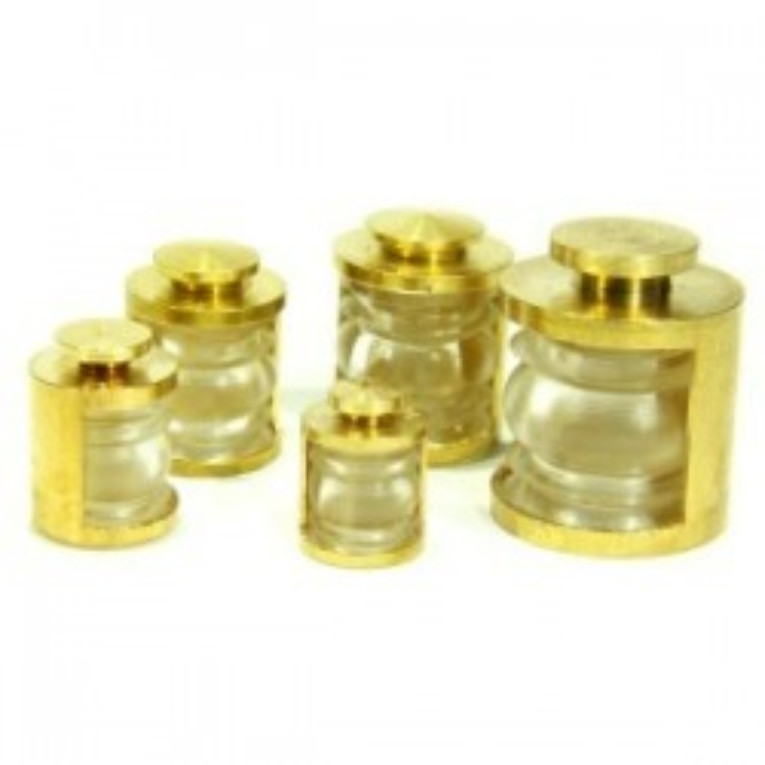 Lanternes 10mm 180° Couleur : Transparente. 2 pièces