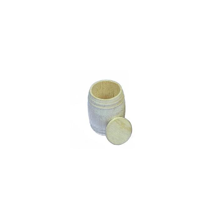 Baril bois 10x14. 2 pièces