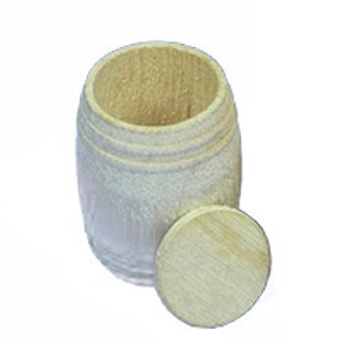 Baril bois 21x26. 2 pièces