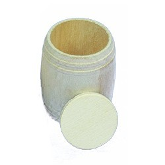 Baril bois 8x10. 4 pièces