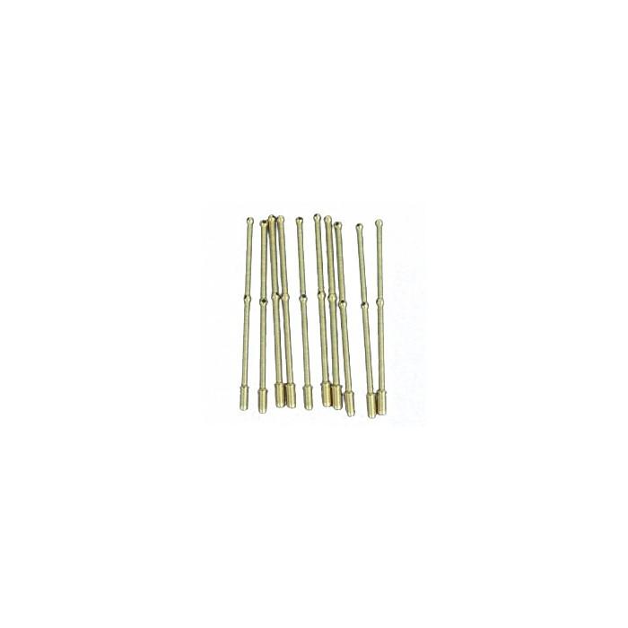 Chandeliers en laiton (trou : nombre de trous de passage).