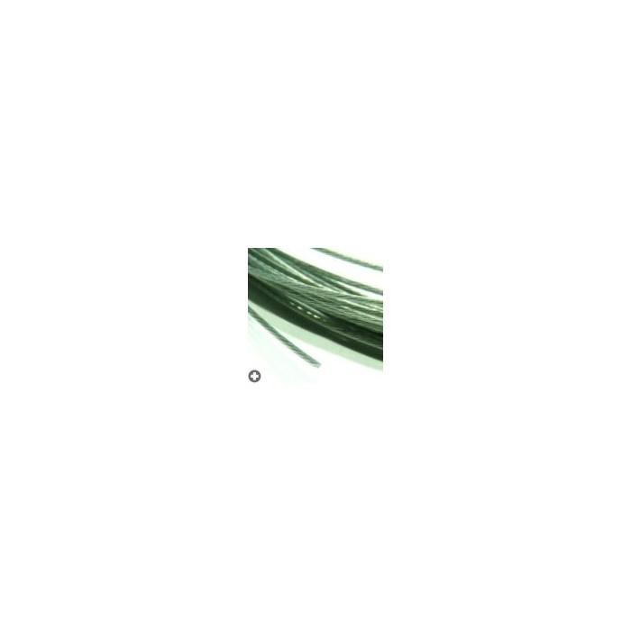 Câbles en acier pour modélisme d : 0,4mm -