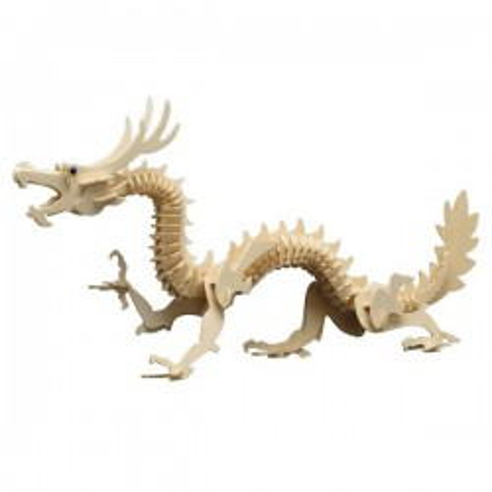 Puzzle : Le dragon chinois