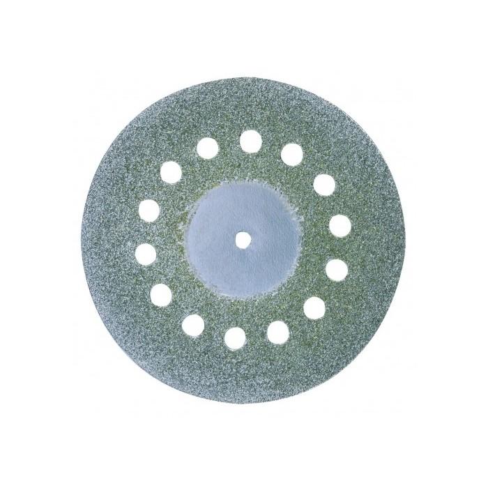 Disque diamenté diamètre 38 mm, avec aération, + 1 tige 2,35 mm