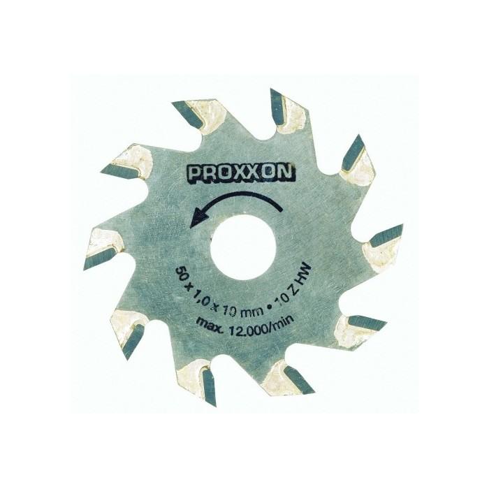 Lame de scie circulaire à plaquettes carbure 10 dents Ø 50 mm x 1,1 pour KS 230