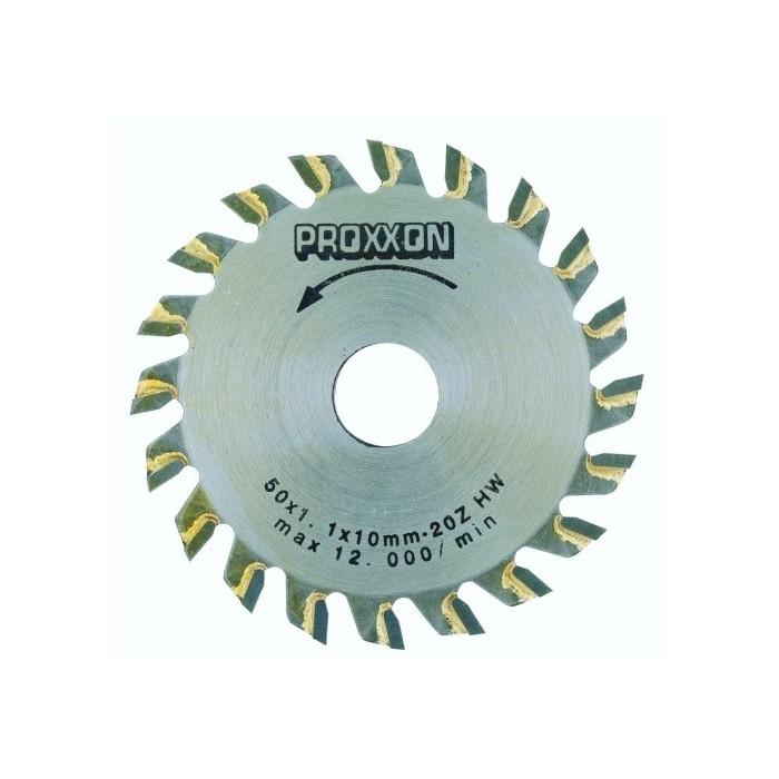 Lame de scie circulaire à plaquettes carbure 20 dents Ø 50 mm x 1,1 pour KS 230