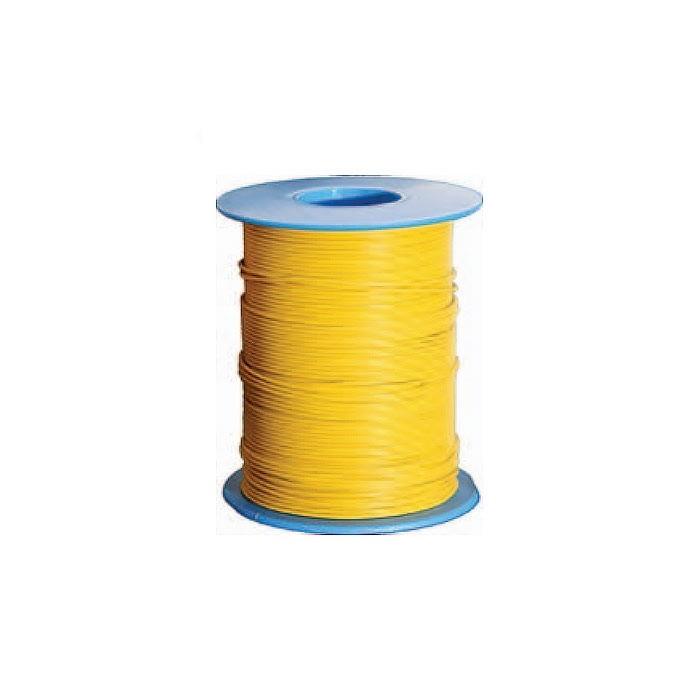 Fil de câblage souple section 0,14mm², Ø extérieur : 1mm. Bobine de 100 mètres
