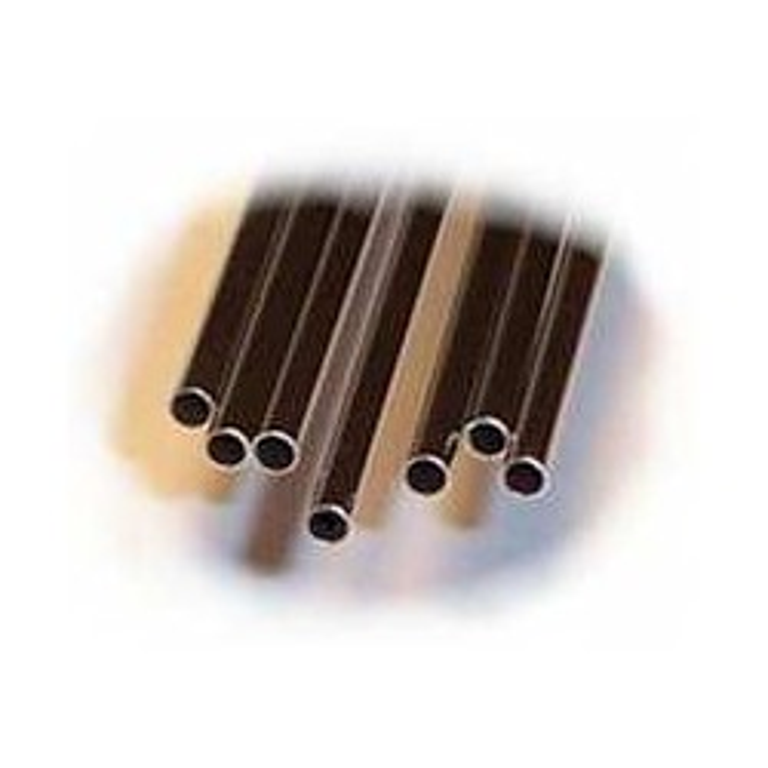 4 tubes inox. Diamètre ext: 0,80 mm Epaisseur: 0,15 mm Longueur: 23 cm