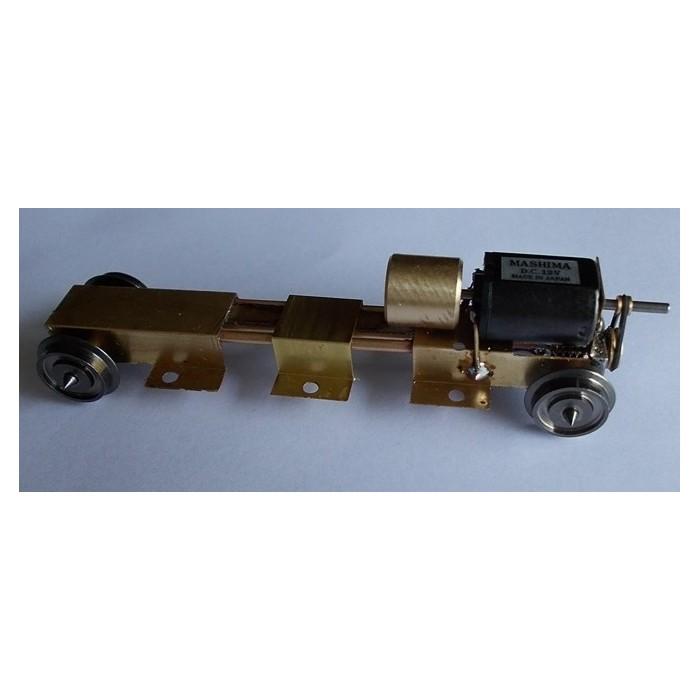 Bogie moteur avec entraxe sur mesure de 39 à 80 mm