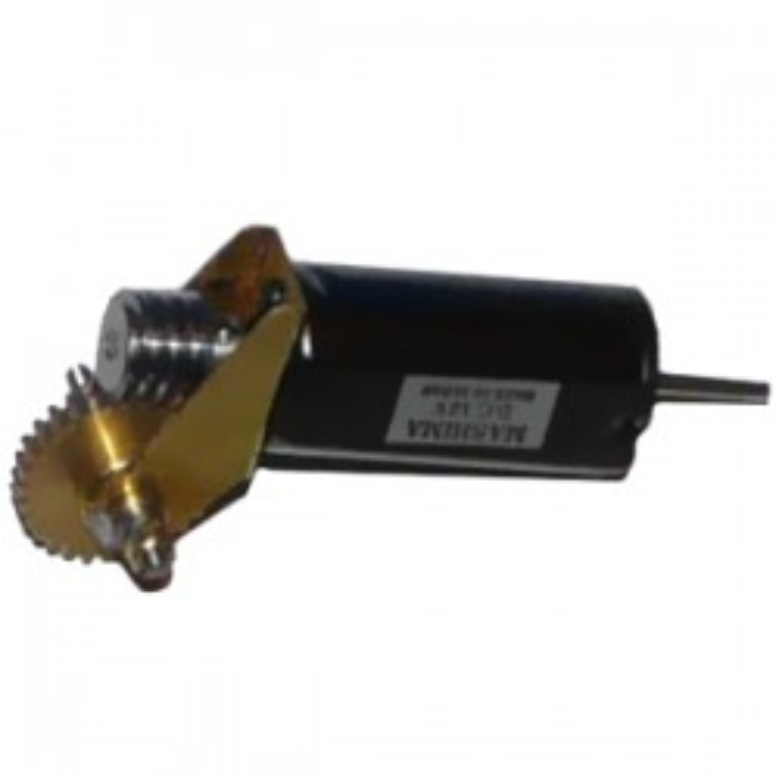 """Réducteur complet. Réduction 40:1, Axe moteur 1,5 mm, Axe de sortie 1/8"""", Module 0,3"""