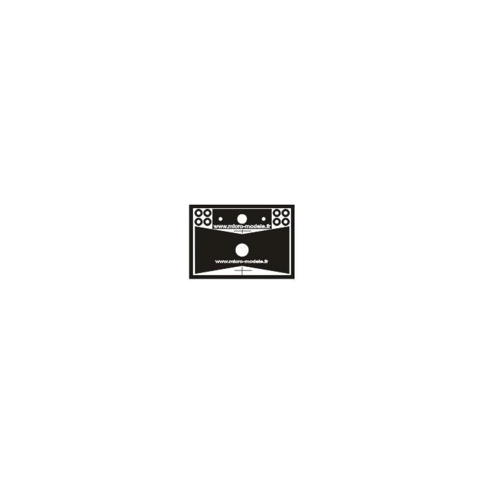 Kit de modification de l'autorail Picasso Atlas. Option 2 pour Tenshodo WB31