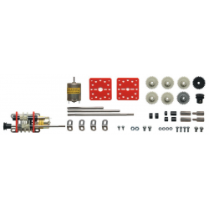 Kit N°1 : Kit complet livré avec le moteur (2- 6 V)