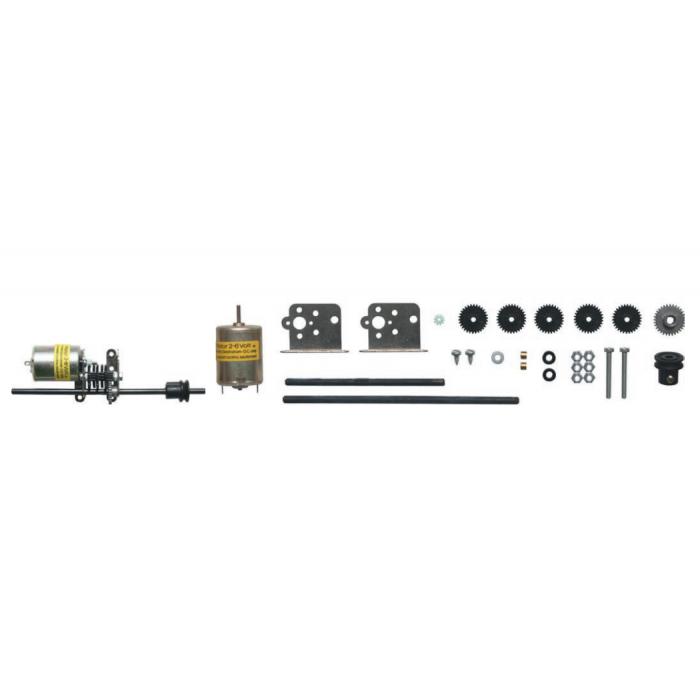 Kit N°2 : Kit complet livré avec le moteur (2- 6 V)