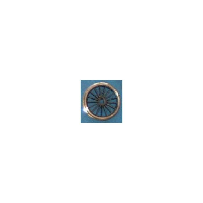 Roue type Romford Diamètre 20 mm, 17 rayons