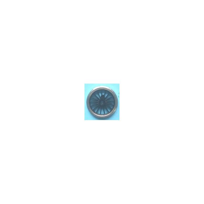Roue type Romford Diamètre 21 mm, 17 rayons