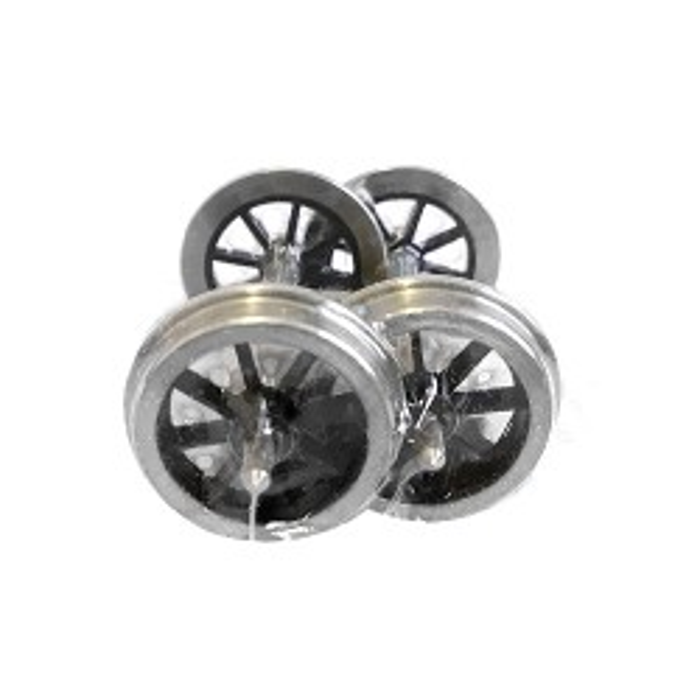 2'8 1/2 8 Spoke Lowmak Wheel Fine Scale