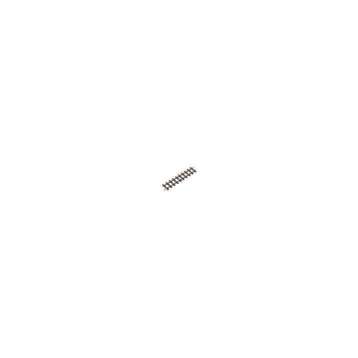 Coffret de 8 rails droits éclissés de 87mm