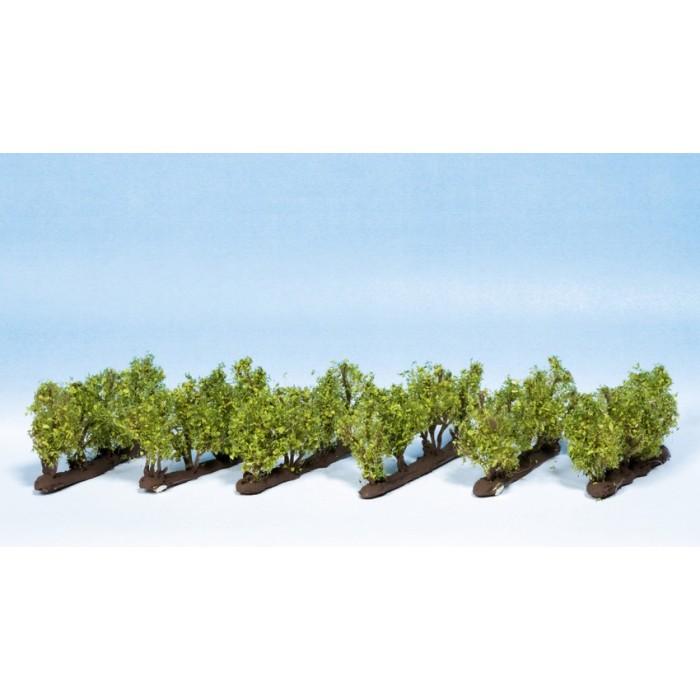 24 Vignes pour HO / TT 2,2 cm de hauteur