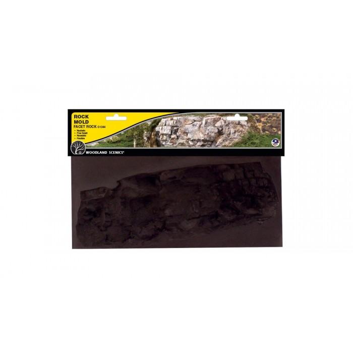 Moule pour mur de roche délavé