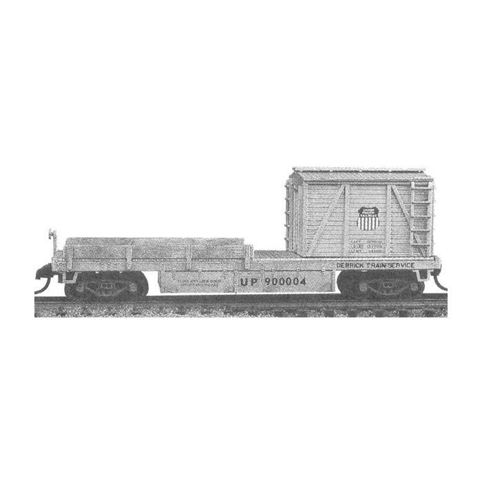 Wagon de service version N de la grue Tichy