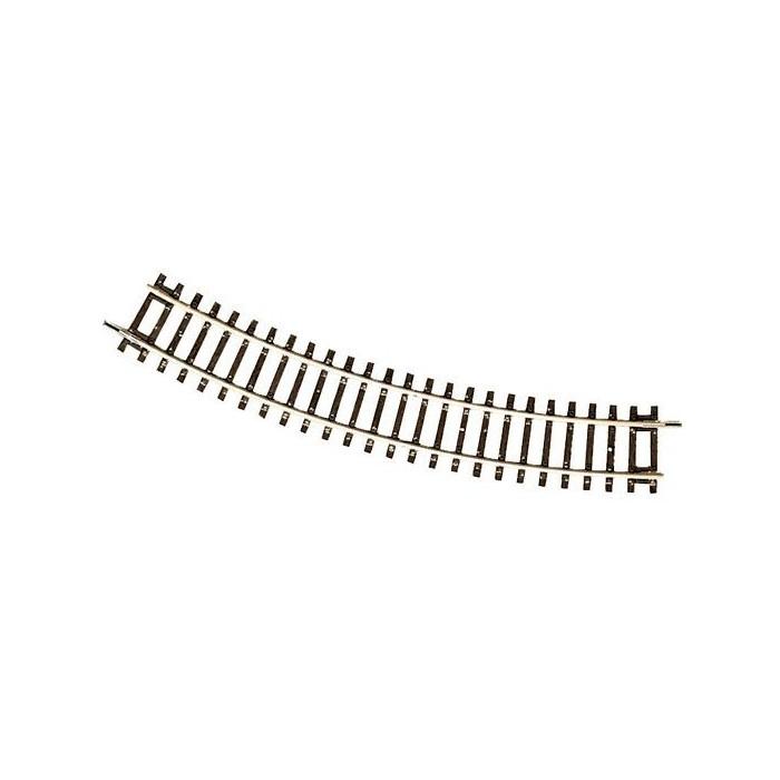 Rail ROCO courbe R6 de 604,4mm/30°