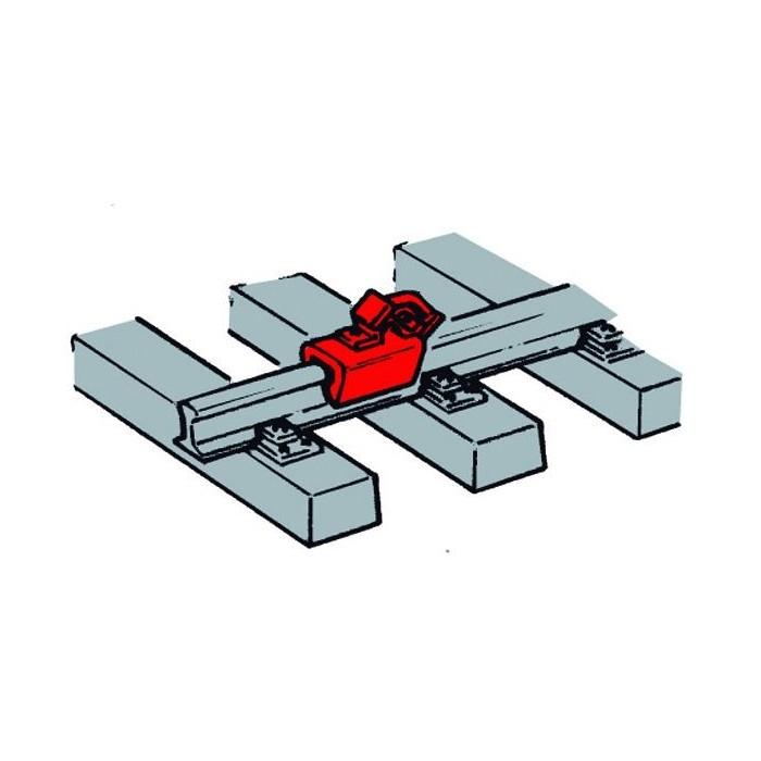 Sabots de frein à placer sur les rails par 12