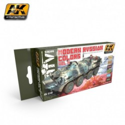 AK4140 MODERN RUSSIAN Colors Vol.2 (Acrylic Paint Set)