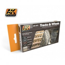 AK557 Tracks & Wheels (Acrylic Paint Set)