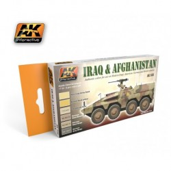 AK558 Iraq & Afghanistan (Acrylic Paint Set)