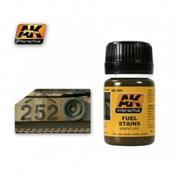 AK025 Fuel Stains (enamel color)
